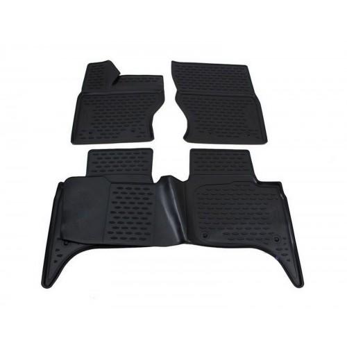 3D Autorohože gumové s vysokým okrajom Land Rover Range rover Sport 2013 a novšie 4 ks