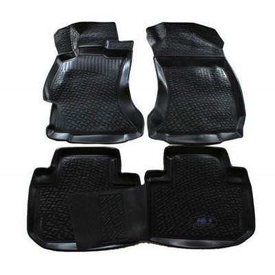 3D Autorohože gumové s vysokým okrajom Subaru Forester IV od roku 2012- 4ks