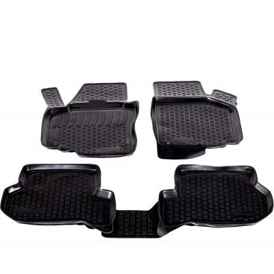 3D Autorohože gumové s vysokým okrajom Seat Altea XL 2006 a novšie 4 ks