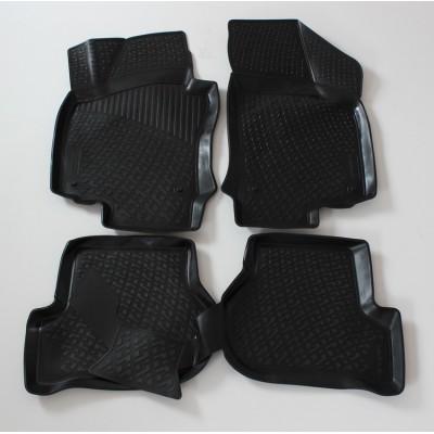 3D Autorohože gumové s vysokým okrajom Volkswagen Golf V 2003-2009 sada 4ks