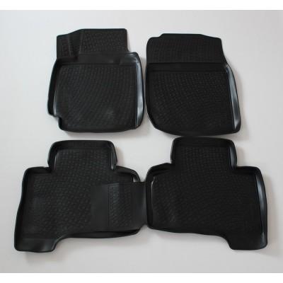 3D Autorohože gumové s vysokým okrajom Suzuki Grand Vitara II 2005 a novšie   4 ks