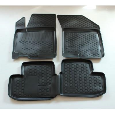3D Autorohože gumové s vysokým okrajom Suzuki Splash 2008 a novšie   4 ks