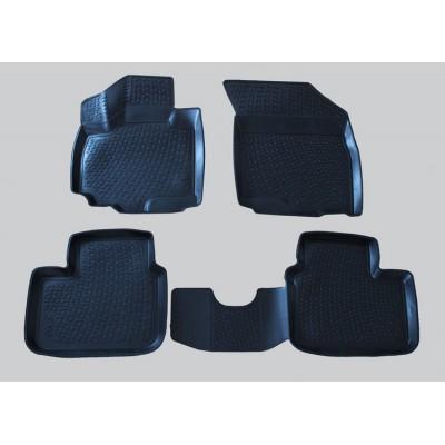 3D Autorohože gumové s vysokým okrajom Suzuki SX4  2006 a novšie 4 ks