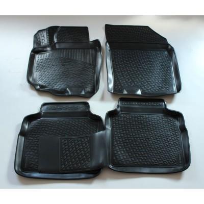 3D Autorohože gumové s vysokým okrajom Suzuki SX4 2013 a novšie 4 ks