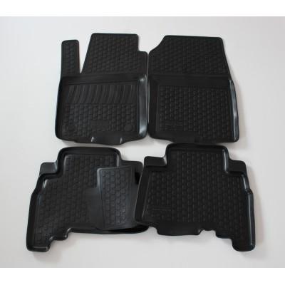 3D Autorohože gumové s vysokým okrajom Toyota Land Cruiser J150 IV 2010 a novšie   4 ks