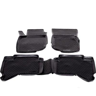 3D Autorohože gumové s vysokým okrajom Toyota Hilux Pick Up 2010 a novšie 4 ks