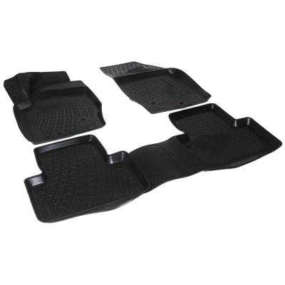 3D Autorohože gumové s vysokým okrajom Volvo  S60 01-09 / V70 / XC70 99-07   4 ks