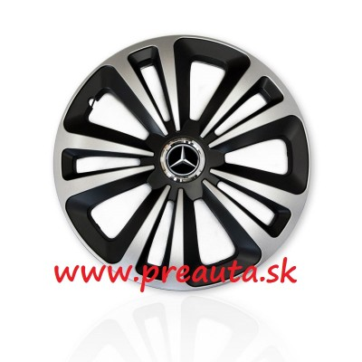 "Puklice Mercedes 15"" Terra Ring Mix sada 4ks"