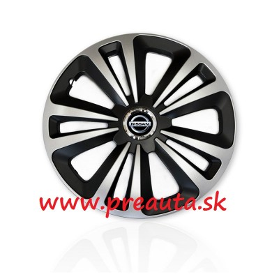 "Puklice Nissan 15"" Terra Ring Mix sada 4ks"