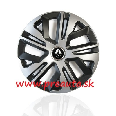 "Puklice Renault 13"" Raven Ring Mix sada 4ks"