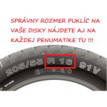 "Puklice Audi 15"" Roco Ring Mix sada 4ks"