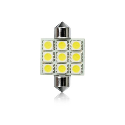 Žiarovka FESTOON 9LED-5050SMD-T11x36mm 1ks