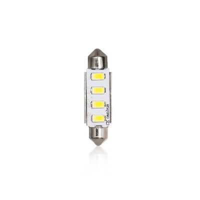 Žiarovka LED T11x42mm white 4LED 1ks