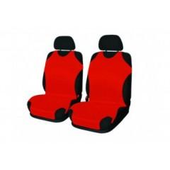 Autotričká univerzálne predné - červené - sada pre 2 sedadlá