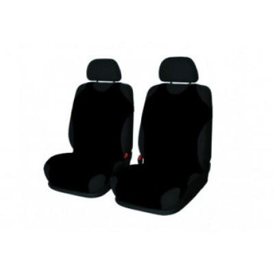Autotričká univerzálne predné - čierne - sada pre 2 sedadlá