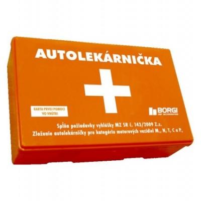 Autolekárnička - Plastová SK