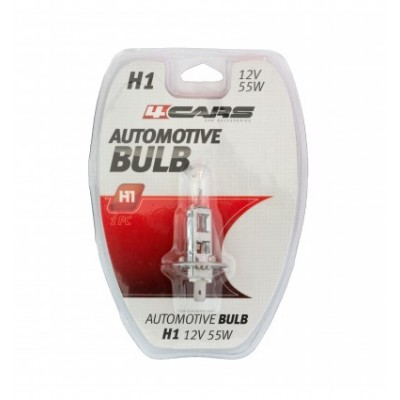 4CARS 12V H1 55W P14,5s(double blister)