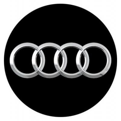 4CARS 3D CAR LOGO AUDI 50mm