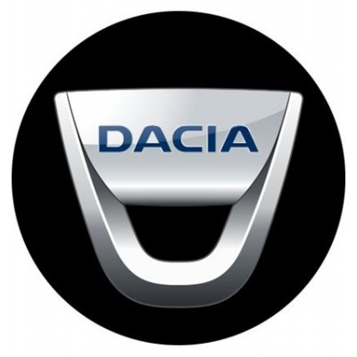 4CARS 3D CAR LOGO DACIA - 50mm