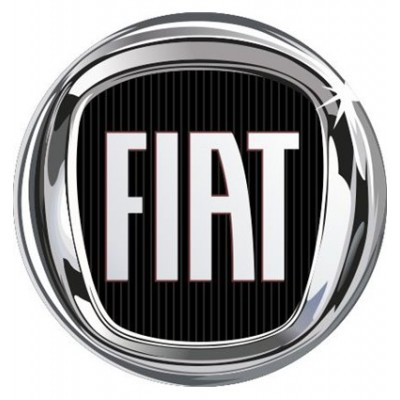 4CARS 3D CAR LOGO FIAT - 50mm