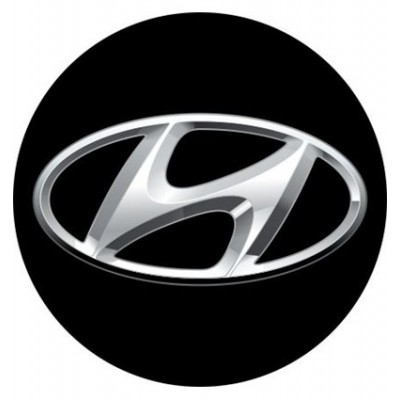 4CARS 3D CAR LOGO HYUNDAI - 50mm