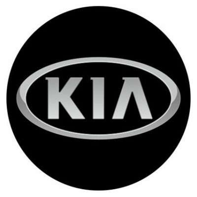 4CARS 3D CAR LOGO KIA - 50mm