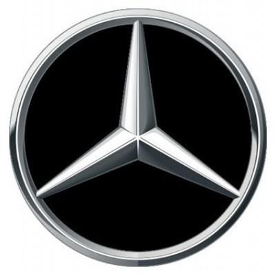 4CARS 3D CAR LOGO MERCEDES - 50mm