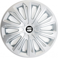 "PUKLICE PRE SEAT 15"" STRONG silver 4ks"